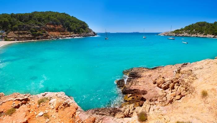 picture of the Cala Salada beach