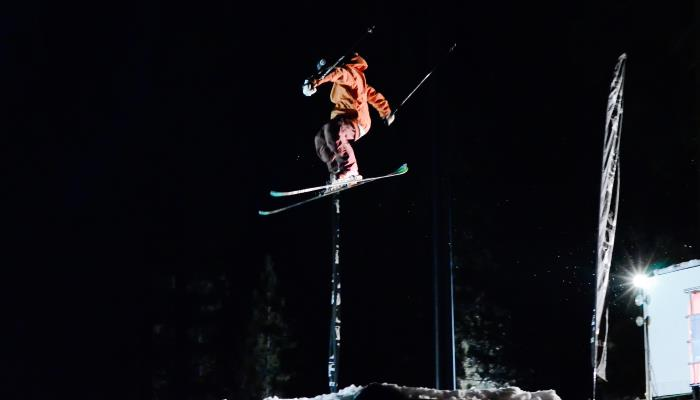 picture of a snowboarder jumping