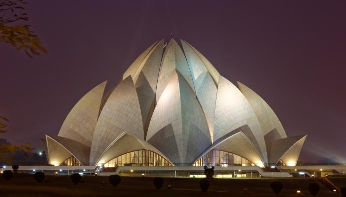 picture of the Lotus Temple