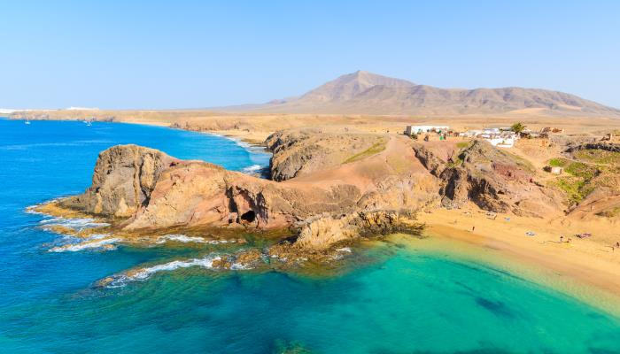 picture of Papagayo beach in Lanzarote