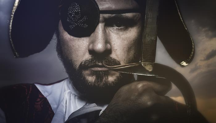 picture of a pirate