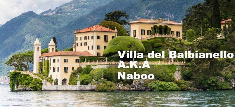 picture of the Villa del Balbianello