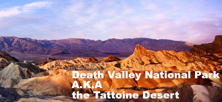 picture of the Death Valley National Park