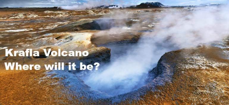 picture of the Krafla Volcano