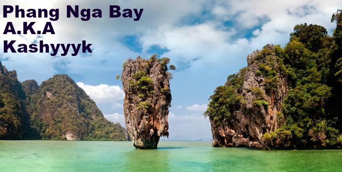 picture of Phang Nga Bay in Thailand