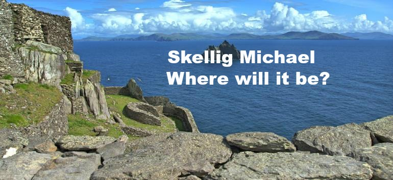 picture of the Skellig Michael island